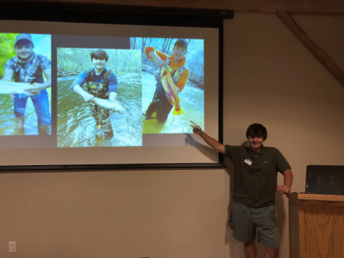 Nicholas at September Meeting
